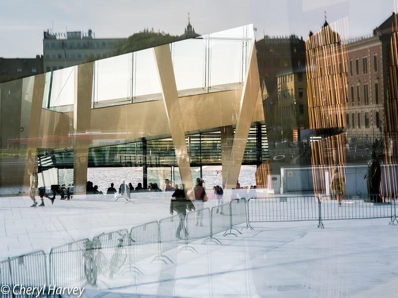 Reflection Chaos, Oslo Opera House