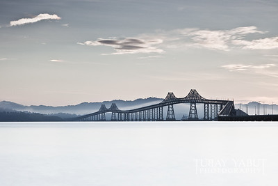 """The Lesser Photographed Richmond Bridge"" (Richmond, CA) 40""x26"" glicee print on premium canvas (gallery wrapped) - $500 (unframed canvas print only) - $350 10.5""x7"" glicee print on premium paper in 20""x16"" frame - $400 10.5""x7"" glicee print on premium paper (w/o frame) - $250"