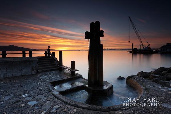 """""""Sausalito Sunrise"""" (Sausalito, CA)"""