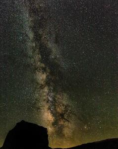 Milky Way Over Mesa