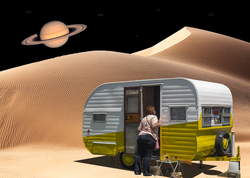 Space camping
