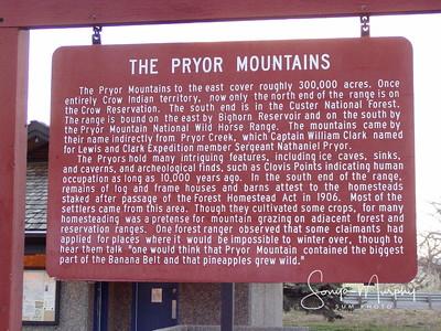 Pryor Mountains