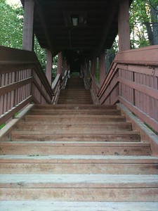 Staircase to Anchorage
