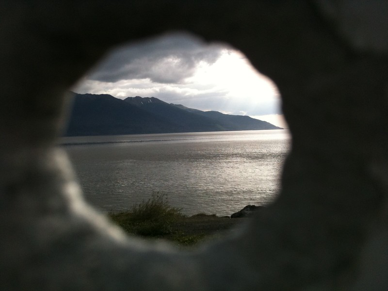 Turnagain Arm Bullet Hole