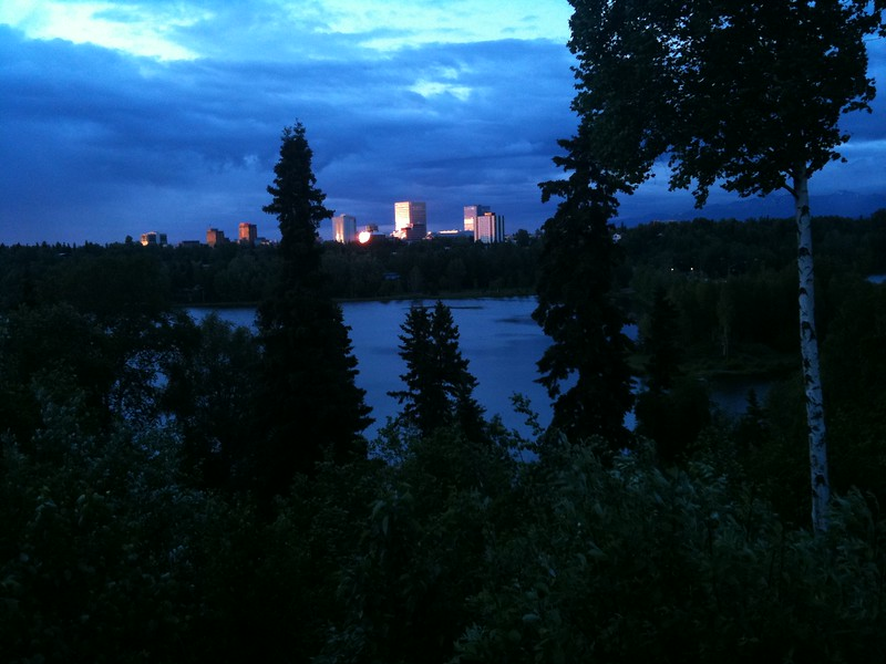 Evening in Anchorage