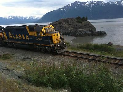 Alaska Railroad, Beluga Point