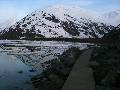 Portage Lake Reflection
