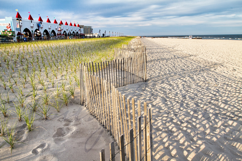 4  Ocean City's Zig Zap Fence