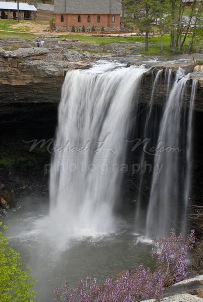 Noccalula Falls in Gadsden, Alabama.