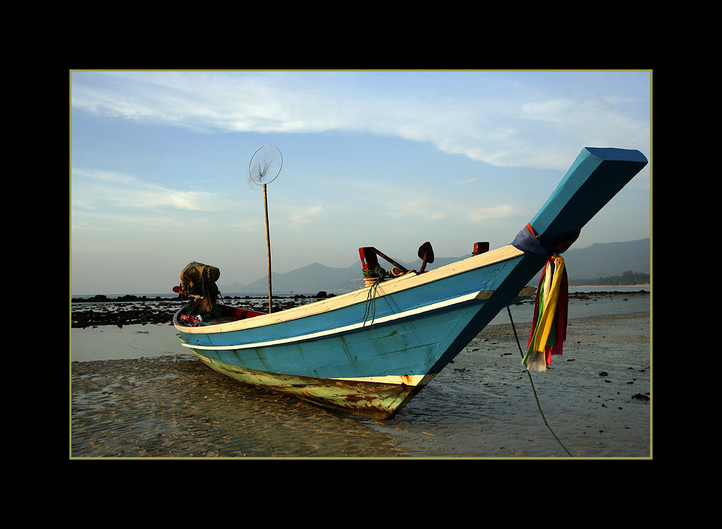Fishing Boat, Koh Samui, Thailand