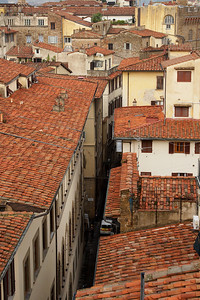 Rooftops Florence, Italy