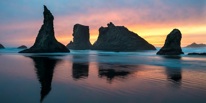 Monolith Sunset