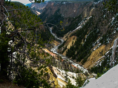 Grand Canyon of the Yellowstone in Yellowstone National Park