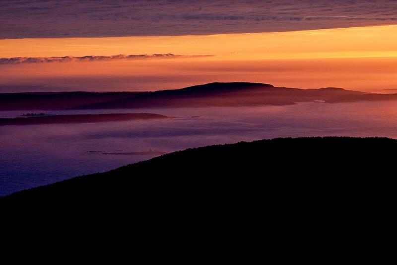 Cadillac Mountain Pre-Dawn 1