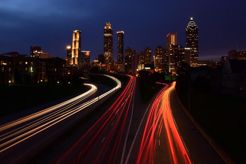 """Atlanta Skyline"""
