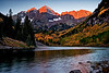Maroon Bells 1st Light