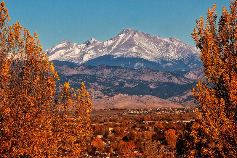 Longs Peak Fall