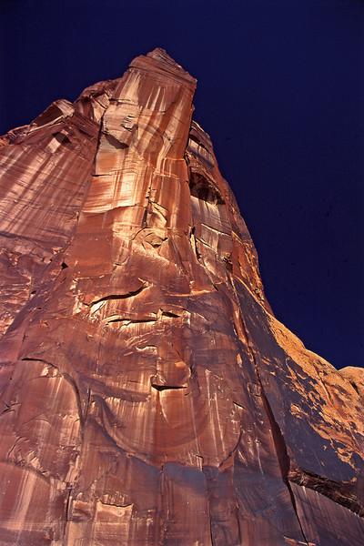 Moab Petroglyph Cliff