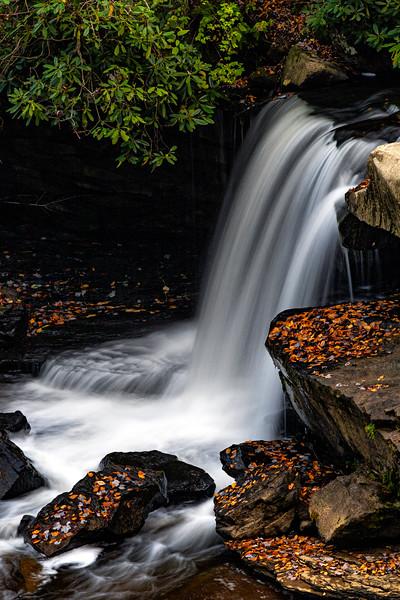 Glade Creek Falls 1