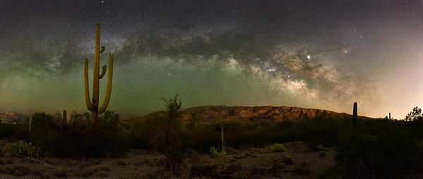Saguaro and Milky Way #2