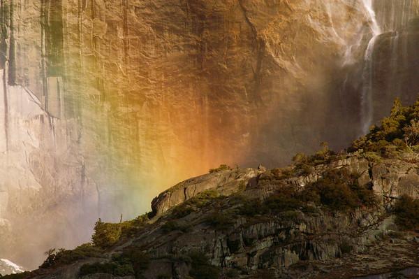 Rainbow & Waterfall