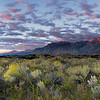 Sierra Mountains at Sunrise