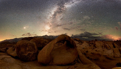 Mobius Arch and Milkyway - Alabama Hills, Lone Pine, California * Nikon D5, 14-24mm f/2.8 AFS, f/2.8, 30sec, ISO 10000 * I've probably shot this arch a 100 times over the last 18 years.  Every time is something different.  This time was the first where I was serious about including the Milkyway in the composition.  To avoid too much light from the half moon, this shot was made a three in the morning. * When I doing night photography, I rarely shoot the sunrise or sunset.  I do this mostly because I'm asleep from being up for several hours in the middle of the night.  ____________________ * #Nikon #Nikonphotography #night #naturephotography #milkyway #california #astrophotography #alabamahills #lonepine #mobiusarch