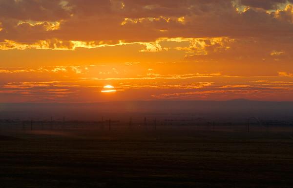 Sunrise In Antelope Valley