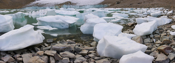Ice At Mt Edith Cavell