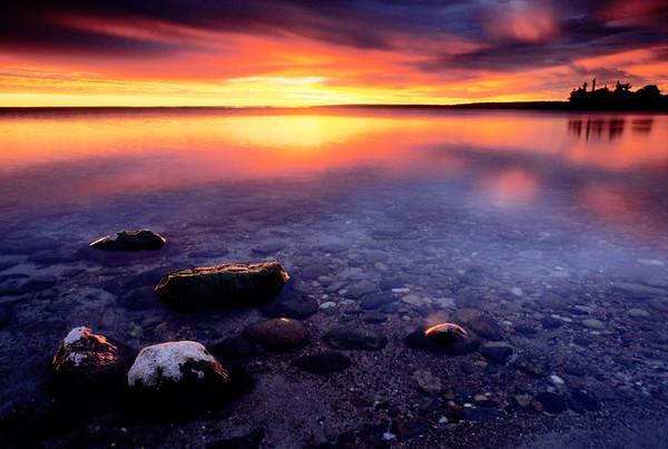 Cold Lake Sunrise #3