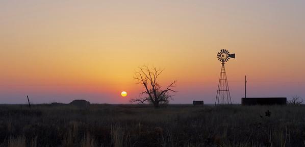 Sunrise At Lesser Prairie Chicken Preserve
