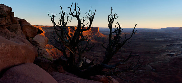 Sunset at Canyonlands NP