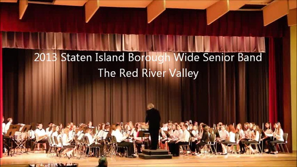 Staten Island Borough-Wide Concerts 2013 - 14-The Red River Valley