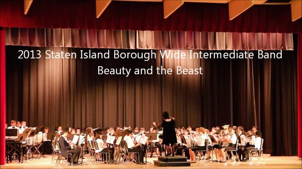 Staten Island Borough-Wide Concerts 2013 - 03-Beauty and the Beast