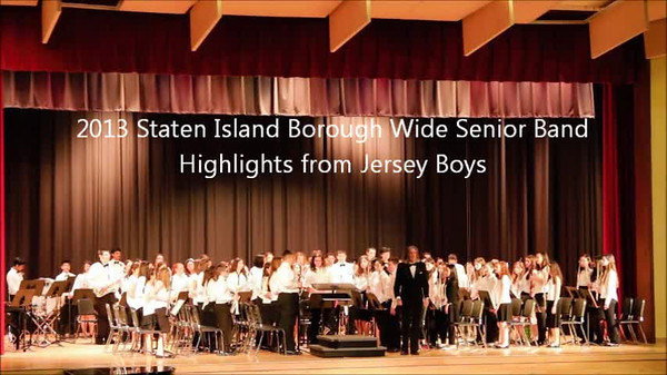 Staten Island Borough-Wide Concerts 2013 - 12-Highlights from Jersey Boys