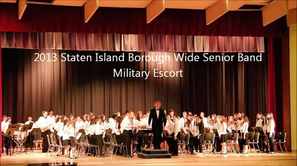 Staten Island Borough-Wide Concerts 2013 - 11-Military Escort