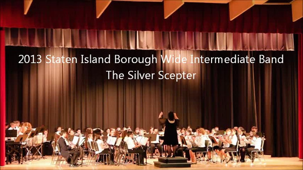 Staten Island Borough-Wide Concerts 2013 - 02-The Silver Scepter