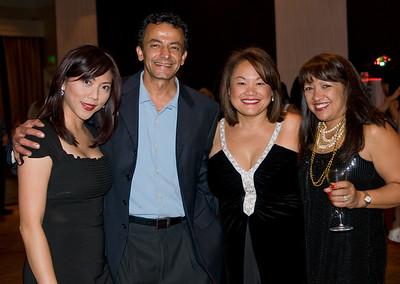 Verona Cho, Naser Eghdami, Chris Choye and Deanna Bartee