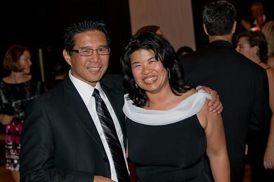 Brad and Andrea Jung