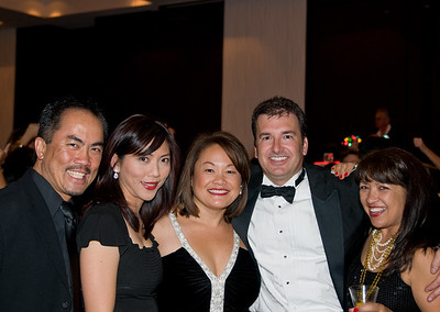 Ray Choye, Verona Cho, Chris Choye and Jeff and Deanna Bartee