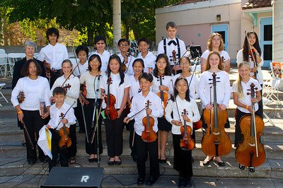 Peninsula Youth Orchestra - chamber strings