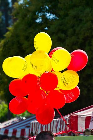 Wells Fargo Balloons