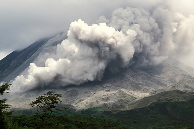 Arenal Volcano Eruption March, 2001, Costa Rica