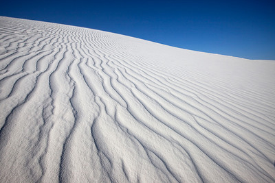 Wind Patterns in Sand, White Sands National Monument, New Mexico