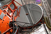 (10.28.2006)  One of the two 8.4 meter primary mirrors of the Large Binocular Telescope on Mt. Graham.