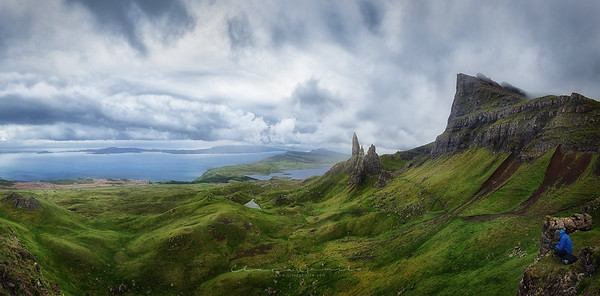 Capturing the moment at The Storr