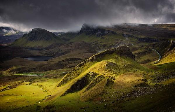 Moody Quiraing, Skye, Scotland