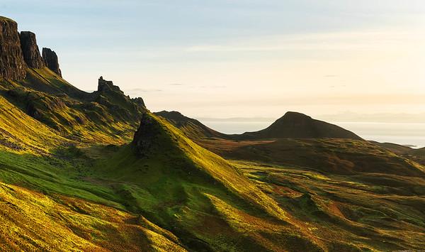 Light and shade, Quiraing, Isle of Skye