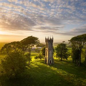 Summer sunset, Barnweil, Ayrshire