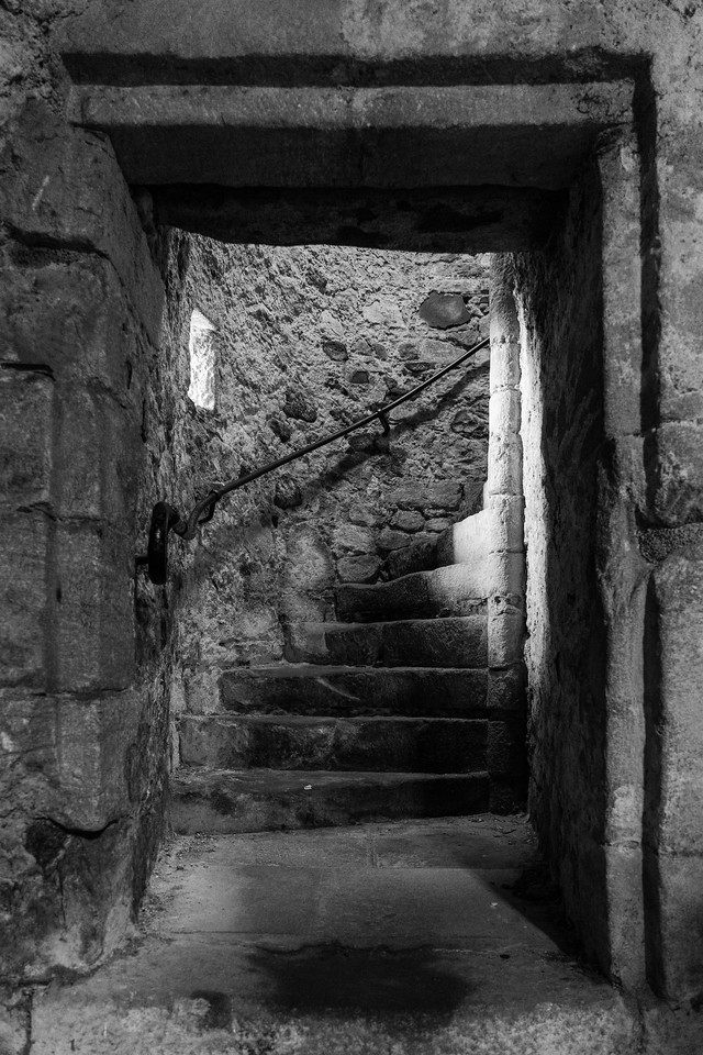 Stirling Castle, Passage